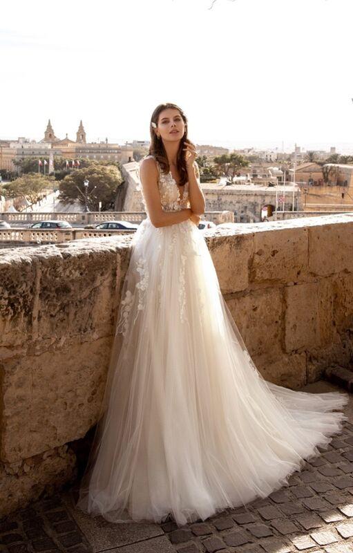 Свадебный салон Vanilla room Свадебное платье Бенита - фото 1