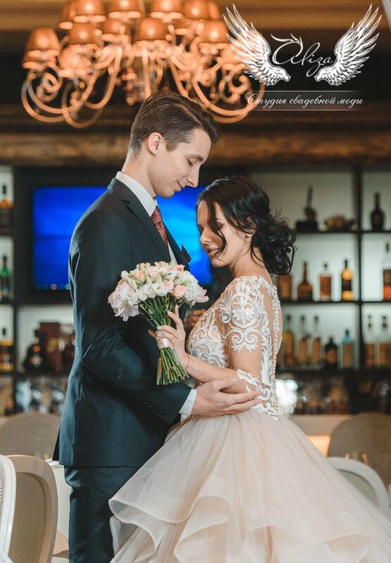 Свадебный салон ALIZA Cвадебное платье «Monica» Ameli Benya - фото 3