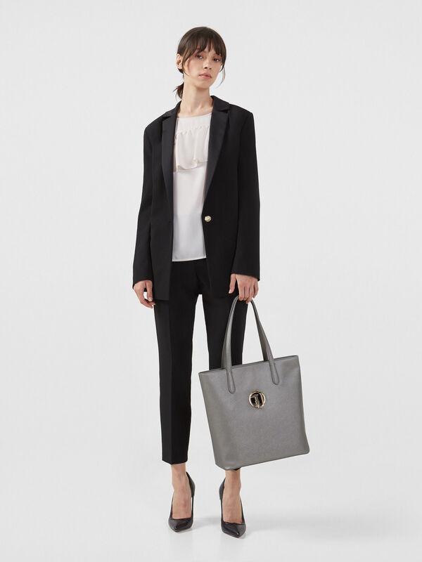 Кофта, блузка, футболка женская Trussardi Блузка женская 56C00218-1T002799 - фото 3