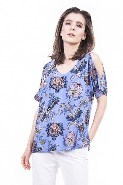 Кофта, блузка, футболка женская SAVAGE Блуза женская арт. 915318 - фото 4