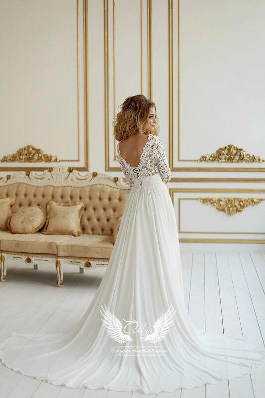 Свадебный салон ALIZA Свадебное платье «Bojena» Ameli Benya - фото 3
