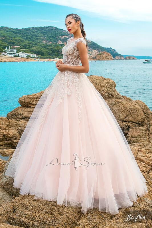 Свадебный салон Anna Sposa Свадебное платье «Bonfilia» из коллекции SEA DIAMOND 2017 - фото 1