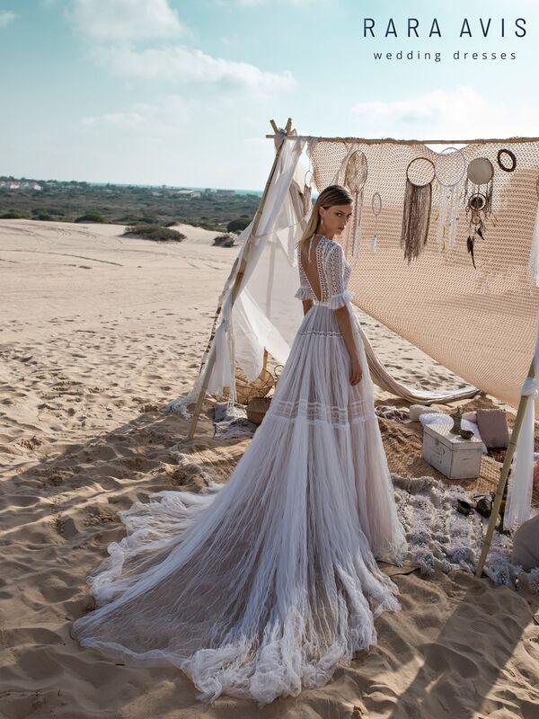 Свадебное платье напрокат Rara Avis Свадебное платье Wild Soul Marit - фото 5