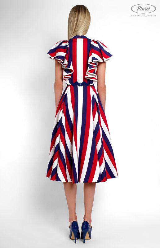 Платье женское Pintel™ Приталенное платье Micheline - фото 4