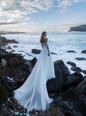 Свадебное платье напрокат Blammo-Biamo Свадебное платье Dream Ocean Kara - фото 2