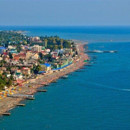 Туристическое агентство Планета отдыха Пляжный автобусный тур в Железный порт, Украина, пансионат «Порто» - фото 1