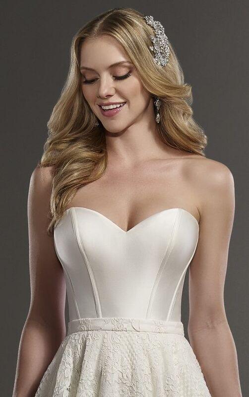 Свадебное платье напрокат Essense of Australia Платье свадебное Carter Sia - фото 3