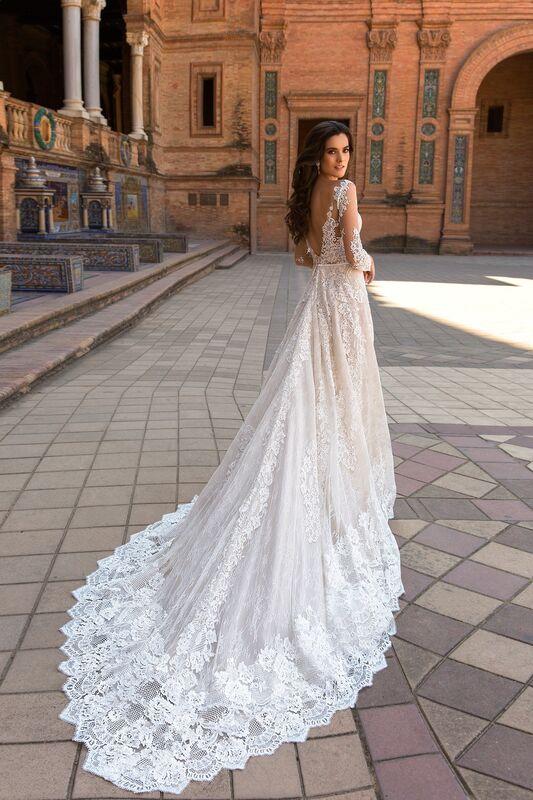 Свадебный салон Crystal Платье свадебное Marlen - фото 2
