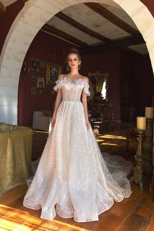 Свадебный салон Eva Lendel Свадебное платье Teona - фото 1