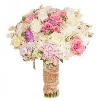 Магазин цветов Ветка сакуры Свадебный букет № 114 - фото 1