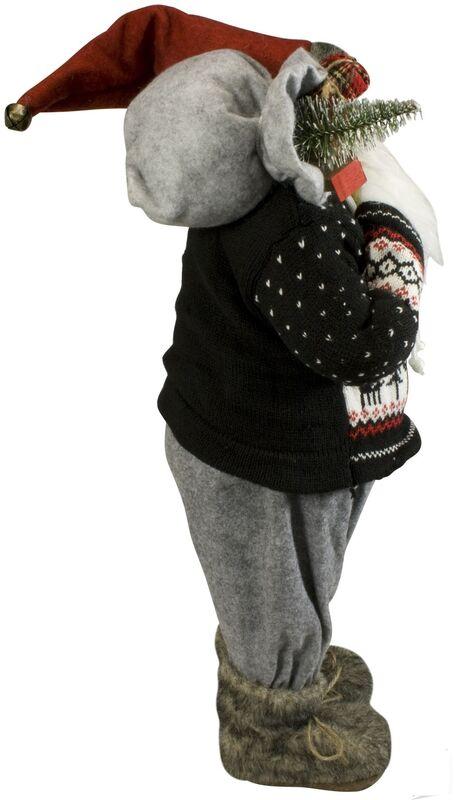 Подарок на Новый год Eurotrading Статуэка «Дед Мороз» 33080, 60 см - фото 2