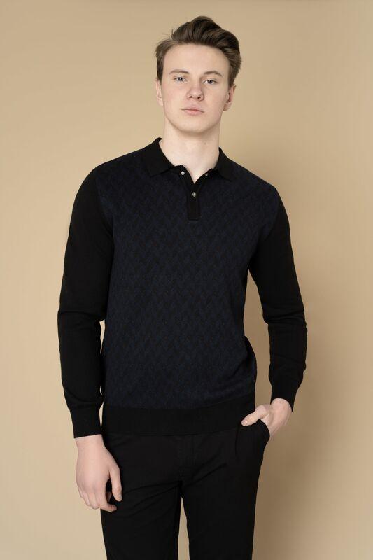 Кофта, рубашка, футболка мужская Etelier Джемпер мужской  tony montana 211391 - фото 4
