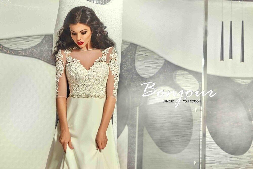 Свадебное платье напрокат Bonjour Платье свадебное «Viktoria» из коллекции L'ECLAT 2016 - фото 5