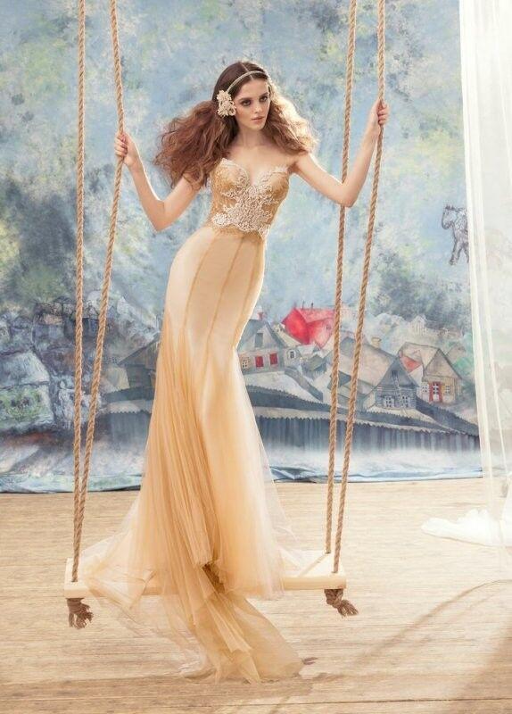 Свадебный салон Papilio Свадебное платье «Нектарница» 1734L - фото 1