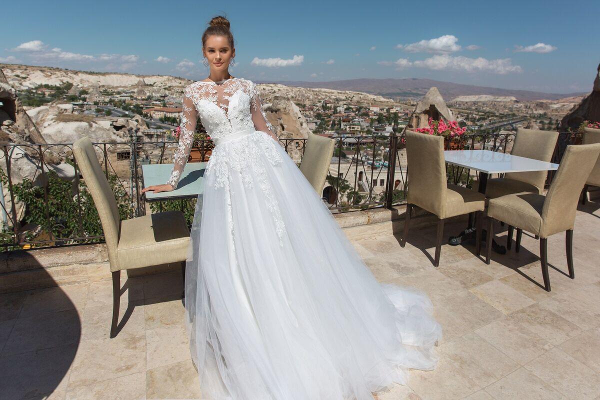 Свадебный салон Eva Lendel Свадебное платье  Navi - фото 1