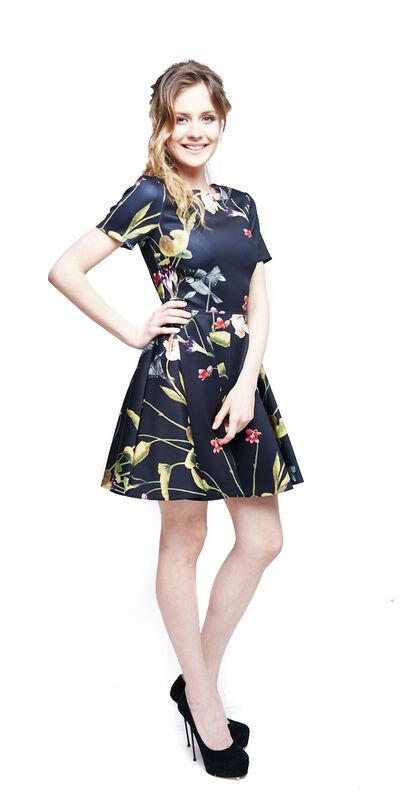 Вечернее платье Ted Baker Платье в цветы 320 - фото 2
