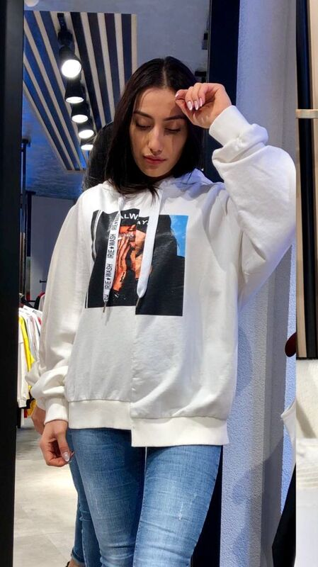 Кофта, блузка, футболка женская It's me! (Это Я!) Свитшот с капюшоном - фото 1
