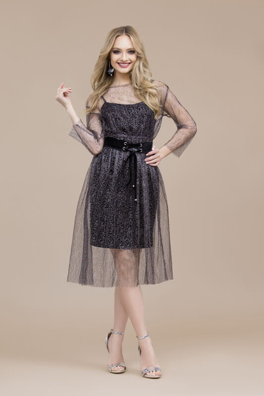 Платье женское Elema Комплект женский 5К-8247-1 - фото 1