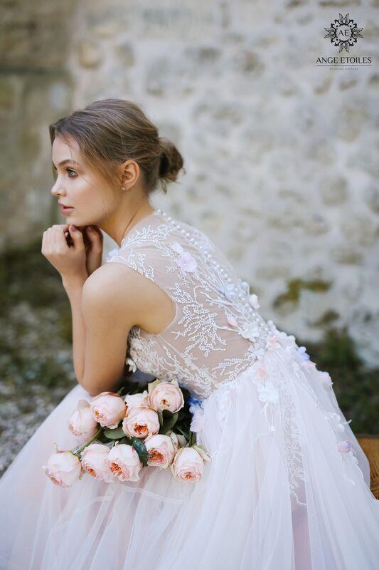 Свадебное платье напрокат Ange Etoiles Платье свадебное AEriality Collection  Shana - фото 3