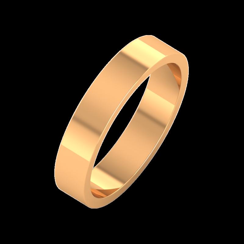 Ювелирный салон ZORKA Обручальное кольцо 144007 - фото 1