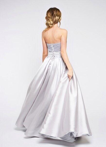 Вечернее платье Jan Steen Вечернее платье 0892 (серебро) - фото 2