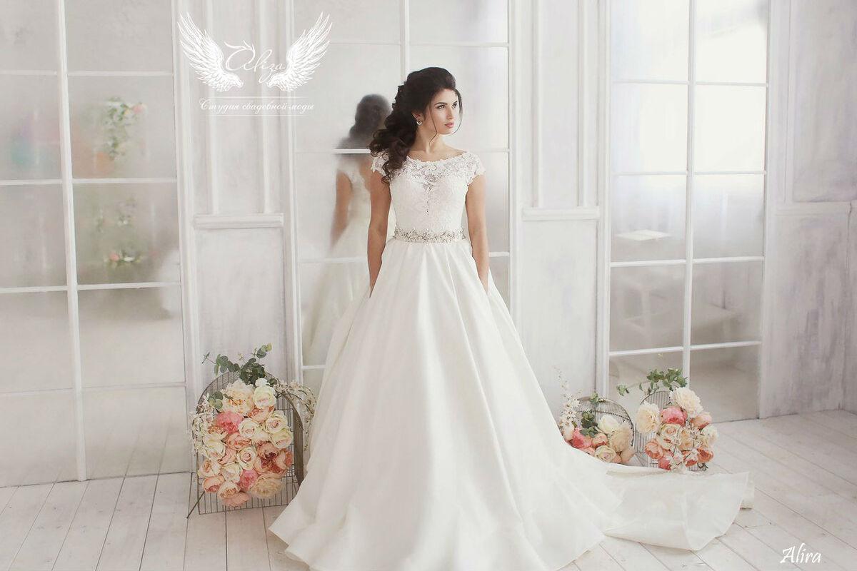 Свадебный салон ALIZA Платье свадебное «Alira» Ameli Benya - фото 2
