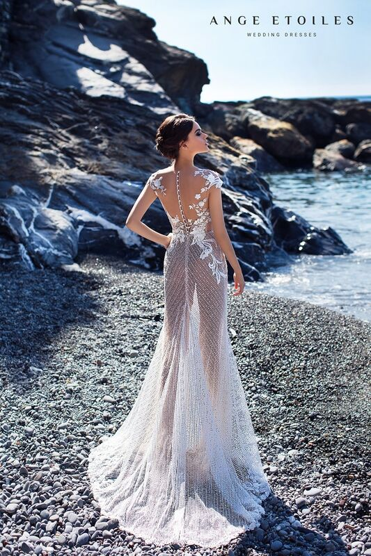 Свадебный салон Ange Etoiles Платье свадебное Ali Damore Diel - фото 2