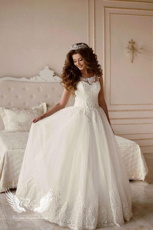 Свадебный салон ALIZA Платье свадебное «Vintage» Ameli Benya - фото 1