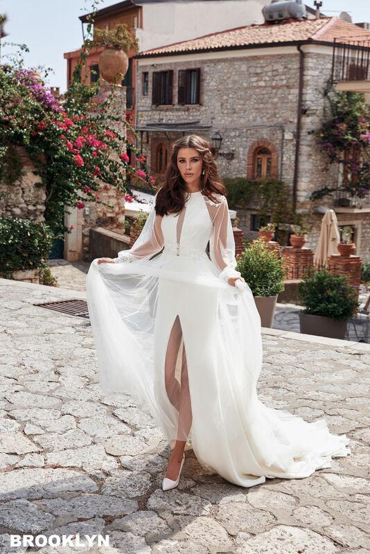 Свадебный салон Bonjour Galerie Платье свадебное BROOKLYN из коллекции BELLA SICILIA - фото 1