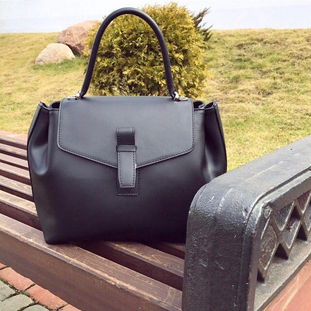 Магазин сумок Vezze Кожаная женская сумка  С00162 - фото 1