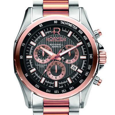 Часы Roamer Наручные часы Rockshell Mark III Chrono 220837 49 55 20 - фото 1