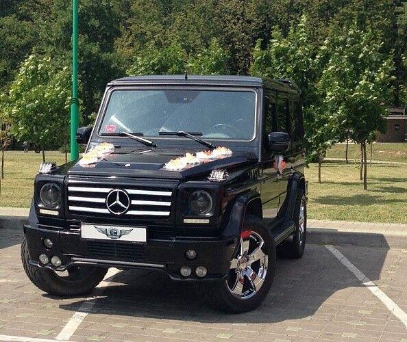 Прокат авто Mercedes-Benz Gelandewagen Black - фото 1