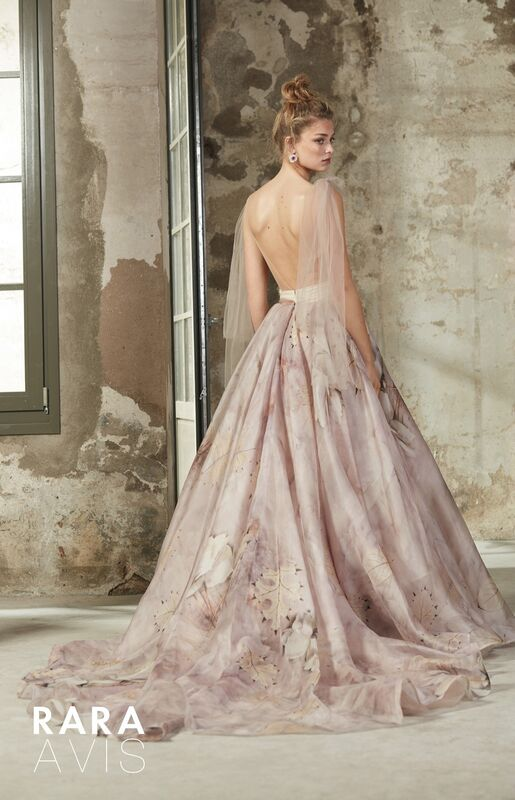 Свадебное платье напрокат Rara Avis Платье свадебное Floral Paradise Elba - фото 2