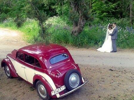 Прокат авто Москвич 401 1955 - фото 6