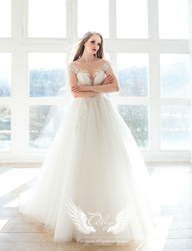 Свадебное платье напрокат ALIZA Свадебное платье Leila - фото 1