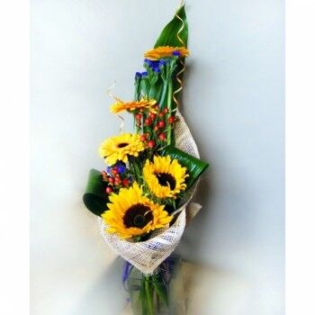 Магазин цветов Ветка сакуры Мужской букет №19 - фото 1