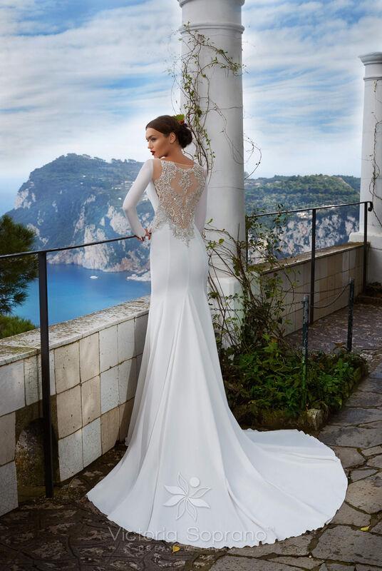 Свадебное платье напрокат City Bride Свадебное платье VS12918 - фото 3