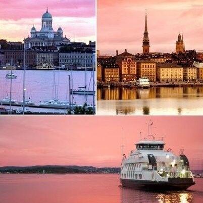 Туристическое агентство Золотой глобус Круиз «Скандинавский бриз: Рига – Стокгольм – Хельсинки – Таллин» - фото 1