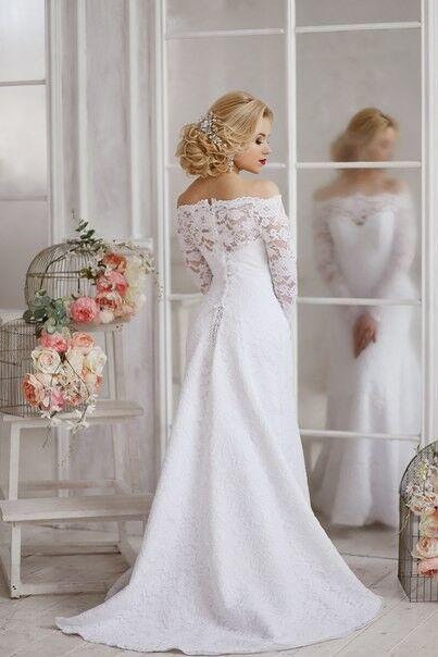 Свадебный салон ALIZA Платье свадебное «Bianca» Soffito - фото 2