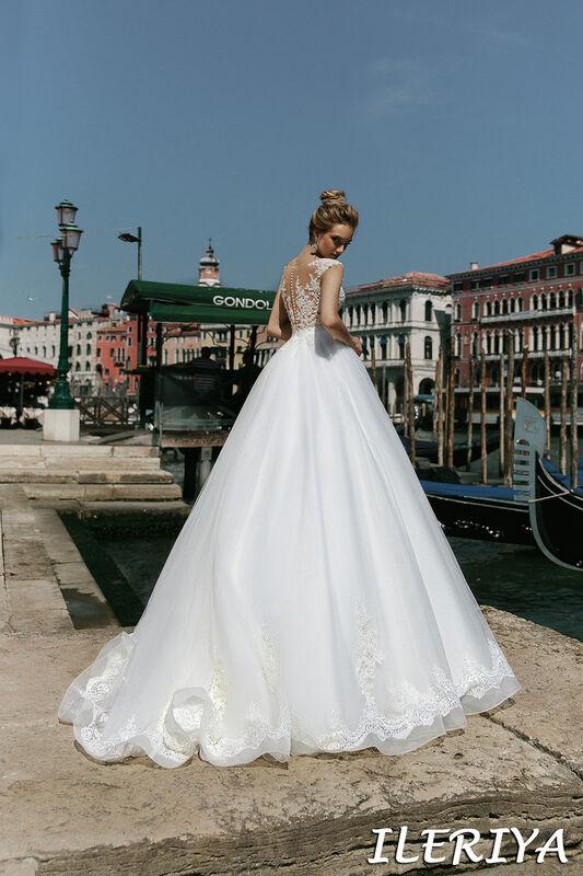 Свадебный салон Bonjour Galerie Свадебное платье Ileriya из коллекции La Douceur - фото 3