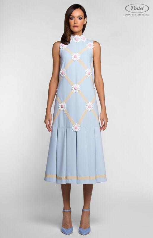 Платье женское Pintel™ Миди-платье свободного силуэта GLORISEL - фото 2