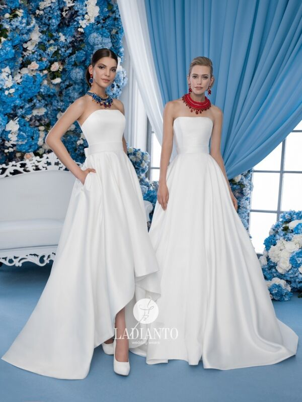 Свадебное платье напрокат Ladianto Платье свадебное D-7012 Leonzia - фото 2