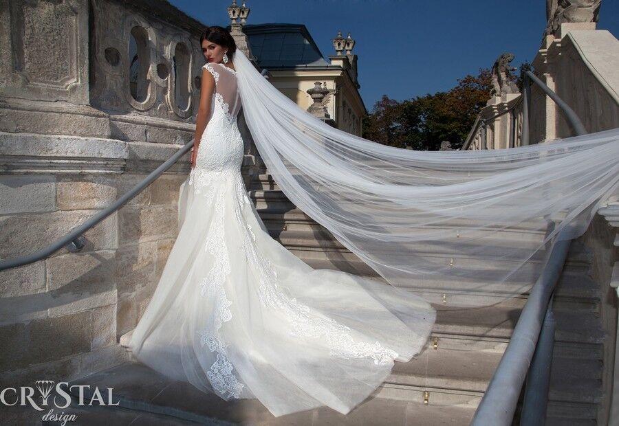Свадебное платье напрокат Crystal Свадебное платье  Primavera - фото 2