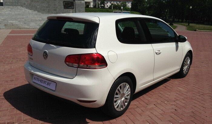 Аренда авто Volkswagen Golf 6 White - фото 3