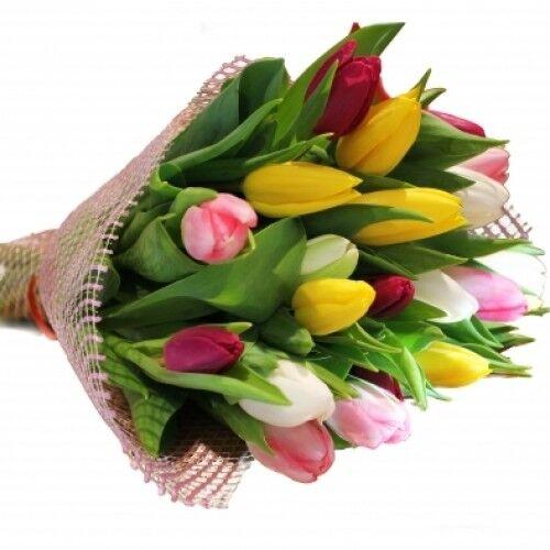 Магазин цветов Планета цветов Букет из тюльпанов №4 - фото 1