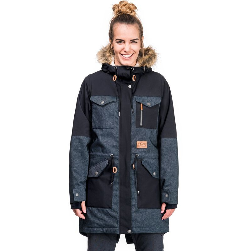 Спортивная одежда Horsefeathers Сноубордическая куртка Perrie Jacket 1718  джинс - фото 1 ... f830df4fe66