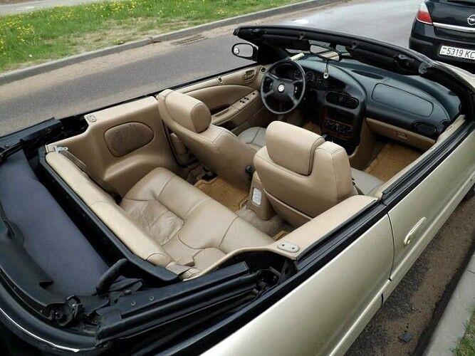 Прокат авто Chrysler Sebring золотистого цвета - фото 3