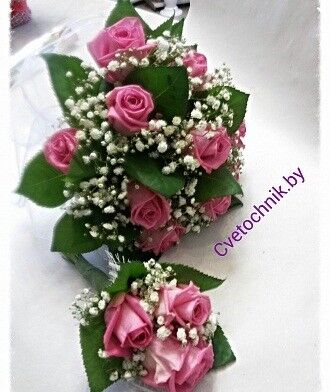 Магазин цветов Цветочник Букет невесты «Катрин» - фото 1