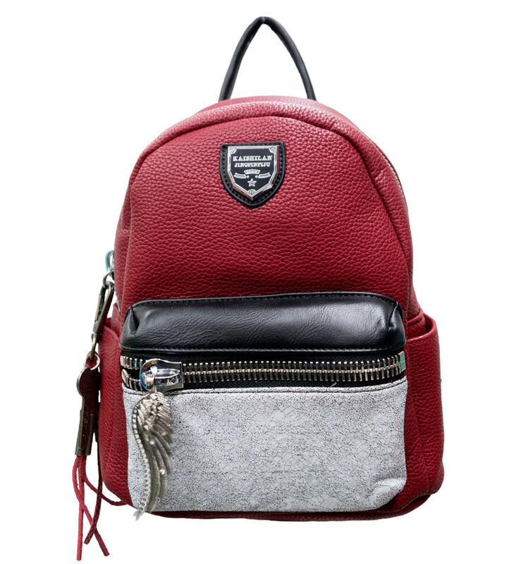 Магазин сумок Passo Avanti Рюкзак женский красный 500-1222-2 - фото 1