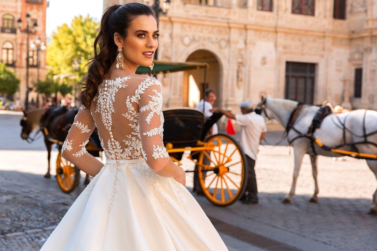 Свадебное платье напрокат Crystal Свадебное платье Jaimi - фото 2